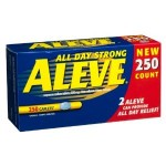 Aleve All Day Strong Pain Relief (250 Caplets): Beat That Unbeatable Pain Yourself!!