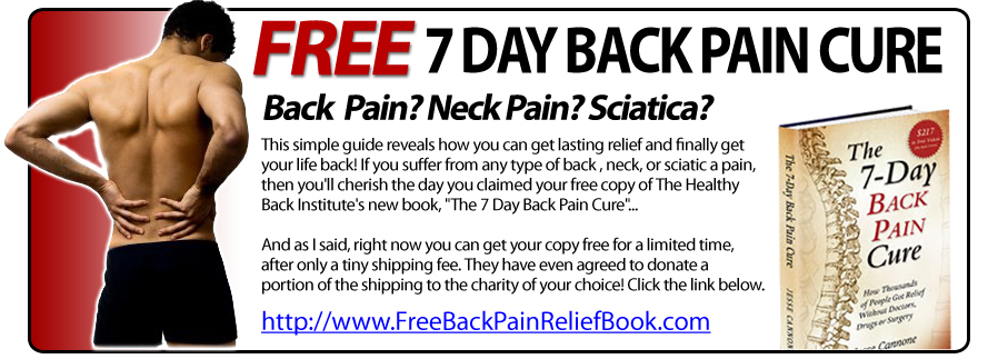 Help For Lower Back Pain Relief