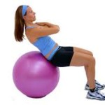 Bounce Back From Lower Back Pain With An Exercise Ball!